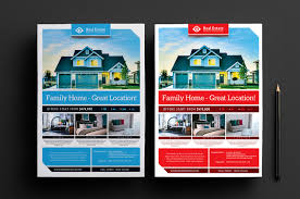 real estate templates for photoshop illustrator brandpacks real estate poster templates