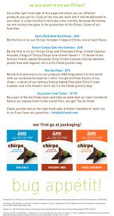 six foods introducing chirps cricket chips by six foods about our urban cricket farm