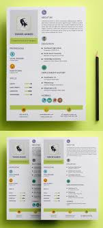 18 professional cv resume templates and cover letter design creative stylish resume template