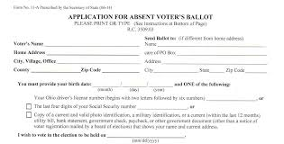 ohio secretary of state accused of ignoring thousands of voters wksu an absentee ballot application that the secretary of state s office sent out last week to 7 million voters