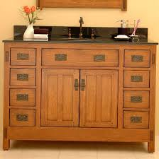arts crafts bathroom vanity: arts and crafts style bathroom vanity craftsman and mission style