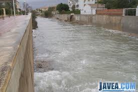Resultado de imagen de fotos del temporal en las playas de Jávea