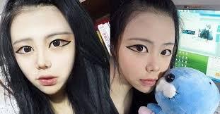netizens argue this korean makeup trend is disgusting