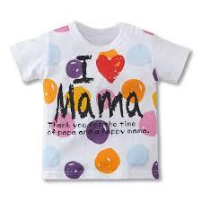 <b>Мода мальчики девочки</b> футболка с коротким рукавом я люблю ...