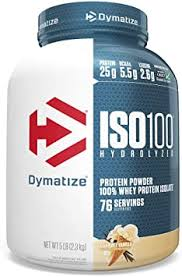 Dymatize <b>ISO100 Hydrolyzed</b> Protein Powder, <b>100</b>% Whey Isolate ...