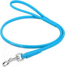 Купить <b>Поводок</b> для собак <b>Collar Glamour круглый</b> синий 8мм 1.22 ...