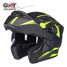 <b>GXT</b> flip up <b>motorcycle helmet</b> double lense <b>full</b> face helmet Casco ...
