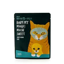 <b>Успокаивающая тканевая маска</b>-мордочка «Baby Pet Magic ...