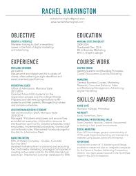 rachel harringtons graphic design student work resume