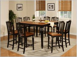 Solid Cherry Dining Room Table Pc Dining Table Sets And Brown Polished Solid Teak Wood Dining