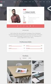 best wordpress resume themes for your personal website rs card wordpress resume cv vcard theme