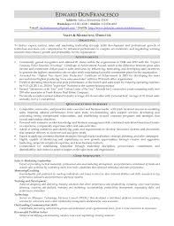 Example Resume  Sales Director And Strategic Manager For Real     Example Resume  Sales Director And Strategic Manager For Real Estate Resume With Qualifications Summary And