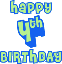 Image result for happy 4th birthday