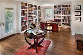 built in bookcases in home office traditional with beige wall art bookcases for home office