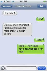 Microsoft Bought Skype | Funny Pictures, Quotes, Memes, Jokes via Relatably.com