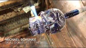 <b>Glass</b> artist Michael Schunke creates a <b>Skull</b> Goblet Pt. 1 - The <b>Skull</b> ...