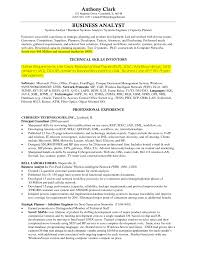 business analyst resume example business analyst job description    sample business analyst resume business analyst technical skills inventory