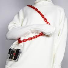 <b>Fashion Acrylic</b> Bag Chains Clear Box Bags Women Small <b>Phone</b> ...