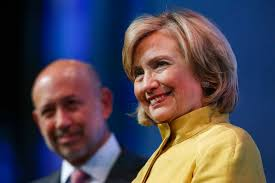 clinton and goldman why it matters by simon head nyr daily hillary clinton and goldman sachs chairman and ceo lloyd blankfein at the clinton global initiative
