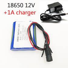 <b>12V</b> 3000 mAh 3S1P <b>Li ion battery</b> 18650 lithium rechargeable ...
