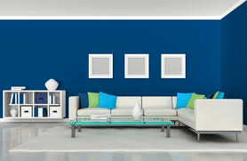 fashionable blue living room blue room white furniture
