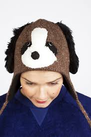 <b>Шапка KNITWITS</b> Doggy (Brown) | www.gt-a.ru
