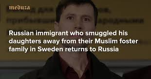Russian immigrant who smuggled <b>his daughters</b> away from their ...