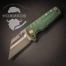 <b>Складной нож Artisan Proponent</b> Green, сталь D2, G10 | www ...