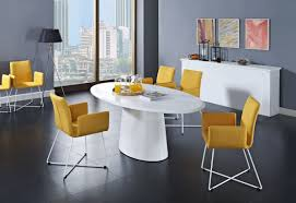 Modern White Dining Room Set Dining Room Modern White Dining Table With Glass Foot Square