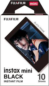 Fujifilm Instax Mini Black Film - 10 Exposures: Camera ... - Amazon.com