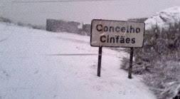 Cinfães e Resende com estradas cortadas por causa da neve