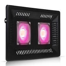 100W Indoor Garden Double <b>Cob LED Grow</b> Light Full Spectrum ...