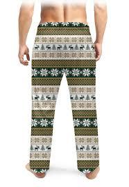 <b>Мужские пижамные штаны</b> Скандинавский узор #2678892 ...