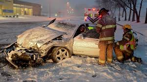 Image result for wreck in the snow