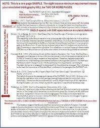 Annotated Bibliography Samples   OWL   Purdue University