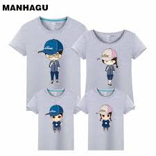 MAHAGU Cartoon <b>Family</b> Matching Clothes Summer Mother ...