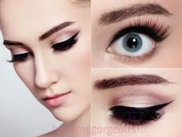 easy makeup ideas glamorous with dramatic eye design
