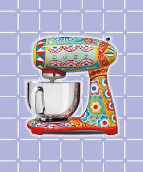 Of Kitchen Appliances Dolce Gabbana Smeg Kitchen Appliance Collection Picture