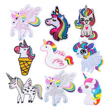 <b>Unicorn Iron On</b> Clothing Patches For Backpacks <b>New</b> Arrived Cute ...