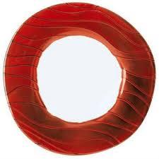 <b>Тарелка круглая</b> Marrakech line Extension, 32см, красная ...