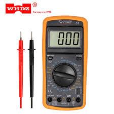 2019 WHDZ <b>DT9205A Professional</b> Digital Multimeter Electric ...