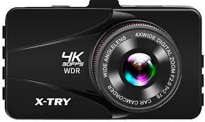 <b>Видеорегистратор X-Try XTC D4000</b> 4K (черный)
