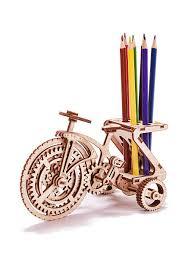 Механический <b>3D</b>-<b>пазл</b> Велосипед Wood Trick 5156446 в ...
