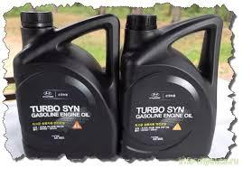 Подделка <b>моторного масла Hyundai Turbo</b> SYN 5w30