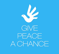 Image result for give peace a chance photo