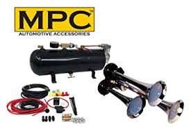 Amazon.com: MPC M1 (0933) <b>3</b>-<b>Trumpet</b> Train <b>Air</b> Horn Kit, 110 psi ...
