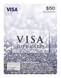 Amazon.com: $50 Visa Gift Card (plus $4.95 Purchase Fee): Gift Cards