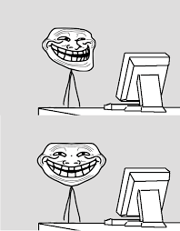 Just go on the internet and tell troll? | Computer Reaction Faces ... via Relatably.com
