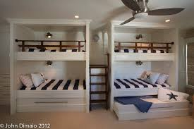 cool bunk bed with trundle in kids traditional with nautical railing next to hidden bed alongside nautical lighting and bunk beds ideas bunk bed lighting ideas