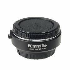 <b>Commlite CM-TF-MFT Auto Focus</b> Lens Mount Adapter for 4/3 Lens ...
